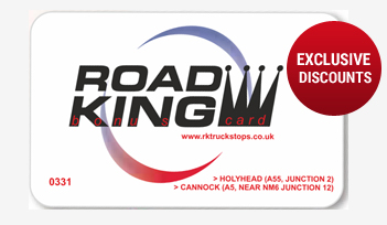 Road King Bonus Card